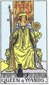 Rider Waite Smith Queen of Wands