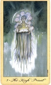 Ghosts and Spirits Tarot Hierophant