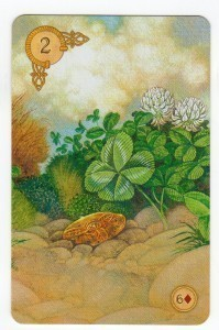 CelticLenormand_2Clover