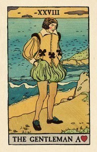 Pixie Astounding Lenormand 28 Gentleman