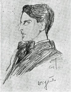 William Butler Yeats by Pamela Colman Smith, 1901