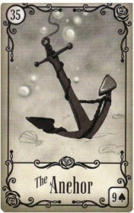 Under the Roses Lenormand Anchor