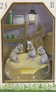 Mystical Lenormand Mice